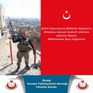 Şehit Uzman Çavuş Mehmet Akpınar